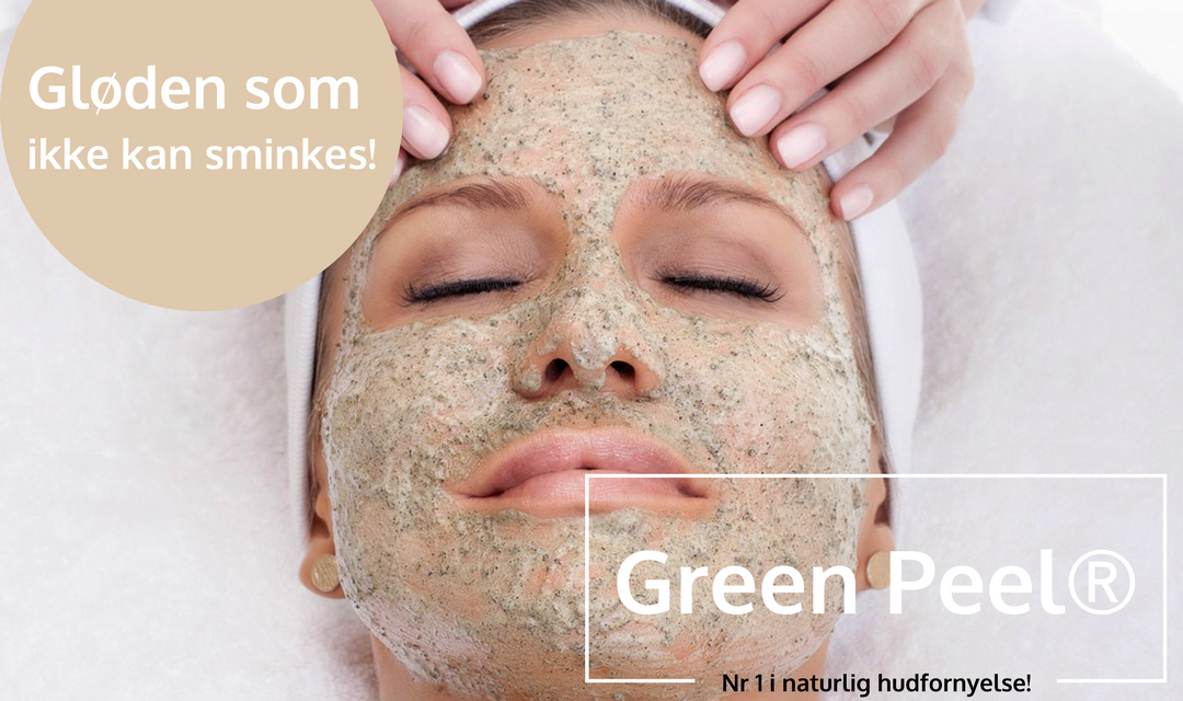 Green Peel®-Urtepeeling-det grønne alternativet til anti-age hudpleie